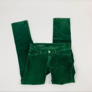 Loomstate Corduroy Green Flux Pants